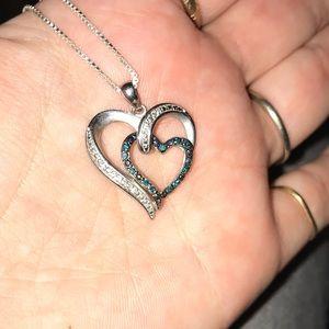 Jewelry - Diamond heart necklace